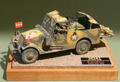 Patton's M3A1 Armoured Scout Car by Steven J. Zaloga (Italeri / Peerless-Max 1/35)
