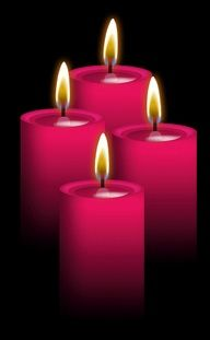 Image result for pink candle