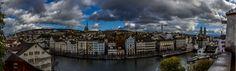 #Zurich on a stormy autumn day