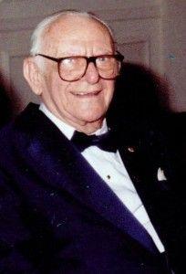 Dr. Armand Hammer - former head of Occidental Petroleum and philanthropist