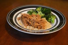 One Day At A Time - From My Kitchen To Yours: Crock Pot Garlic Brown Sugar Terikyaki Pork
