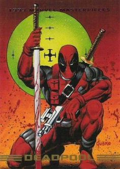 Deadpool 1993 Marvel Masterpieces