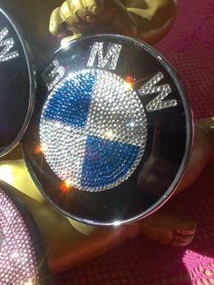 750iL BMW E32 m.Swarovski Element Emblem 34 740 von DieGlitzerwerkstatt auf DaWanda.com