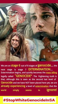 Africa might be next in the Genocidal line, experts believe Revelation 21 4, White Lives Matter, Dying Of The Light, Evil World, Meaningful Words, Political News, South Africa, Believe, Politics