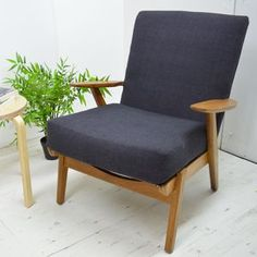 Mid Century Refurbished Parker Knoll Armchair