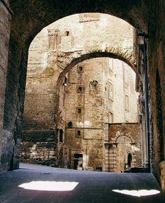 "mostlyitaly: "" Arches of Perugia (Umbria, Italy) by Filippo Prezioso """