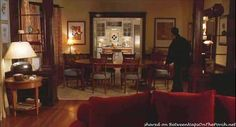 Tour The Apartment In The Movie, Just Like Heaven In San Francisco .... love this site and the 'tours' of movie houses.... this has a lot of great 'snapshots' of the apartment in the movie and I love this view from living room, through the dining room and into the kitchen... that beautiful trim! this site also has links to 'you've got mail' and 'green card'...love it!