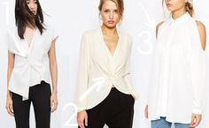 Pursuit of a Chic Closet: Not your basic white shirt