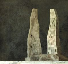 Architectural models by Michele de Lucchi