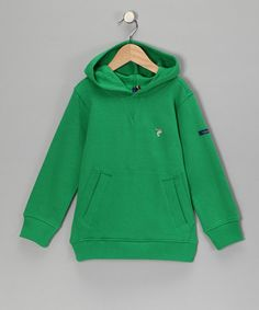 Take a look at this Green Organic Hoodie - Toddler & Boys by Little Shrimp on #zulily today!
