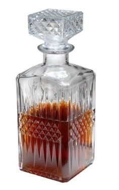 Whiskey 30 Ounce Decanter With Stopper, 2015 Amazon Top Rated Liquor Decanters #Kitchen