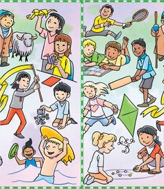 children around the world, right