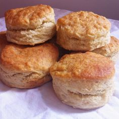 My family recipe for flaky Southern style buttermilk biscuits :)