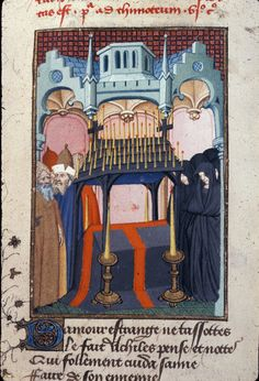 British Library, Harley 4431   f. 137v   Funeral of Hector
