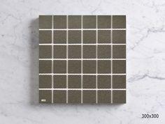 MSFT4504CW SUNETT LIGHT GREY PORCELAIN MOSAIC - ANTISLIP Sheet Sizes, Mosaics, Porcelain, Grey, Gray, Porcelain Ceramics, Mosaic, Tableware