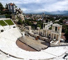Ancient Theatre, Plovdiv, Bulgaria