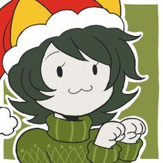homestuck harumi's doodles christmas icons