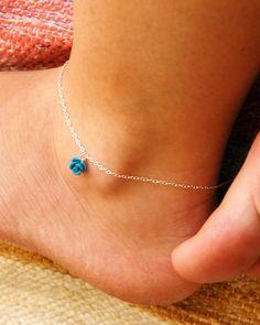 Sterling Silver Anklet ankle bracelet