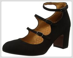 Chie Mihara Damen Flawless Mary Jane Halbschuhe, Black (Ante Negro), 38 EU - Mary jane halbschuhe (*Partner-Link)