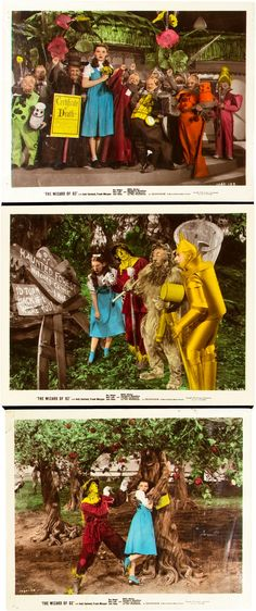 The Wizard of Oz (MGM, 1939). Color Glos Photos