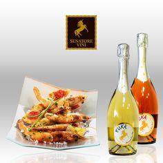 Fish dishes and Eukè Spumante  #SenatoreVini #Wine #Food