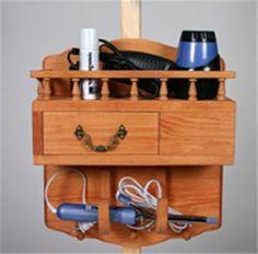 Hair Dryer Storage Plan