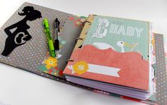 Pregnancy Memory Book  Pregnancy Journal  by OurMomsTouch on Etsy