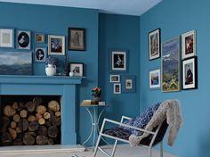 Par petites touches ou à grandes doses, les couleurs, vives ou pastel, s'invitent au salon.... ELLE Maison