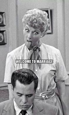 Welcome to Marriage - I Love Lucy