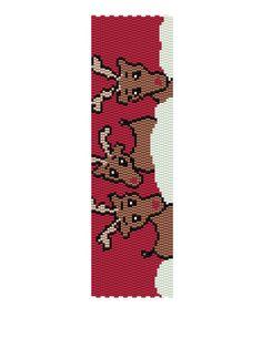 Reindeer Peyote Pattern