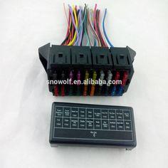 high quality 12 way fuse box block fuse holder box car vehicle rh pinterest com 4AGE 16V Wiring Harness 4AGE 16V Wiring Harness