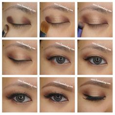 too faced chocolate bar palette makeup  Haute choc crease  Cherry cordial outer n inner lid  Creme brûlée middle
