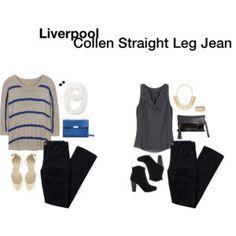 Liverpool Collen Straight Leg Jean