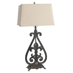 Wood fleur de lis table lamp home decor pinterest chandelier i pinned this palermo fleur de lis table lamp from the paget studios event at joss aloadofball Choice Image