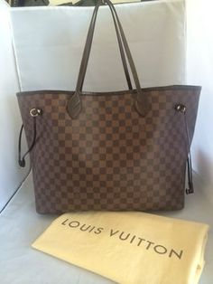 Louis Vuitton Neverfull Gm Damier Ebene Tote Bag. Get one of the hottest styles of the season! The Louis Vuitton Neverfull Gm Damier Ebene Tote Bag is a top 10 member favorite on Tradesy. Save on yours before they're sold out!