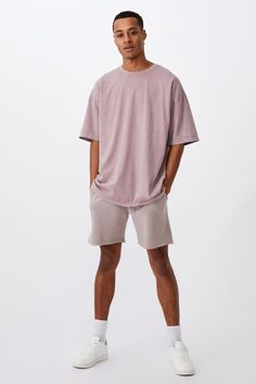Oversized Droptail Tee