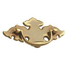 Belwith Keeler 2 1/2 C/C Cabinet Pull Sherwood Antique Brass