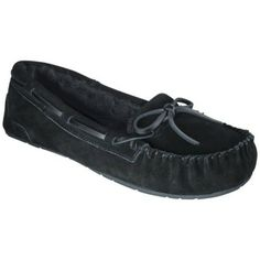 Women's Chaia Genuine Suede Moccasin Slippers sz 10
