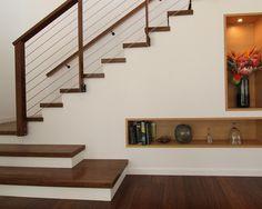 Dekofenster in der Treppe - etwas für unsere Treppennordseite