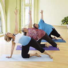 Yoga for Any Size - FINALLY someone recognizes that some body shapes CANNOT do everything.  Work up to it!