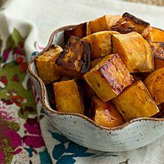 Apple Cider Glazed Sweet Potatoes