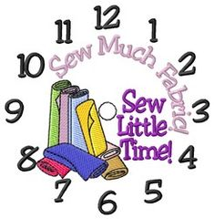 Sew Much Fabric embroidery design from embroiderydesigns.com