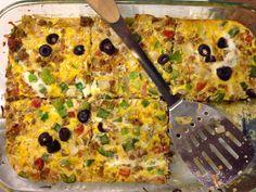What I Gather: Paleo Taco Breakfast Casserole