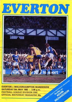 Everton v Wolves 1981-82