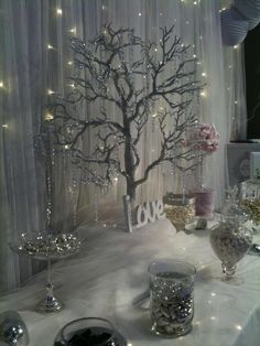 My winter fairytale inspired candy buffet at the Malta wedding fair