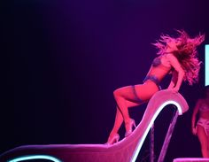 """Bombshell Jennifer Lopez performs her resident show, """"All I Have,"""" at Planet Hollywood Resort in Las Vegas. Photo credit: Denise Truscello"""
