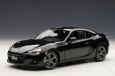 AUTOart: Subaru BRZ - Black (78692) in 1:18 scale