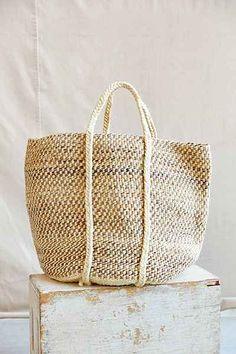 Swahili African Modern Large Kenyan Tote Bag