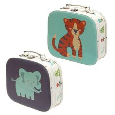 Shop today for Decorative Set of 2 Zoo Design Craft Cases by weeabootique !
