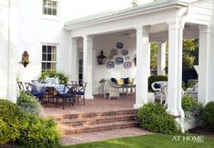 Design by Ward Lile, Photographed by Nancy Nolan for @At Home in Arkansas http://www.athomearkansas.com/article/just-add-sweet-tea